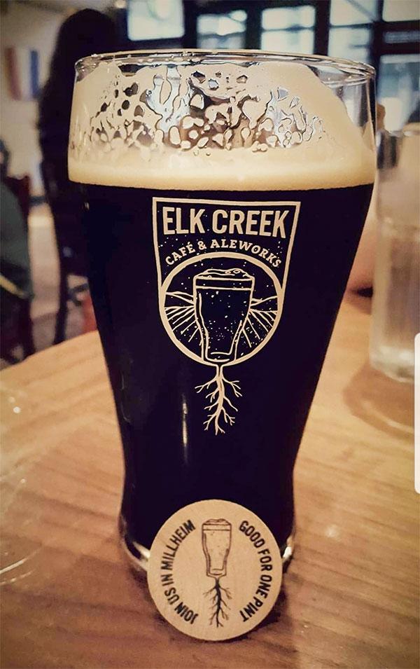 Elk Creek Beer and Token