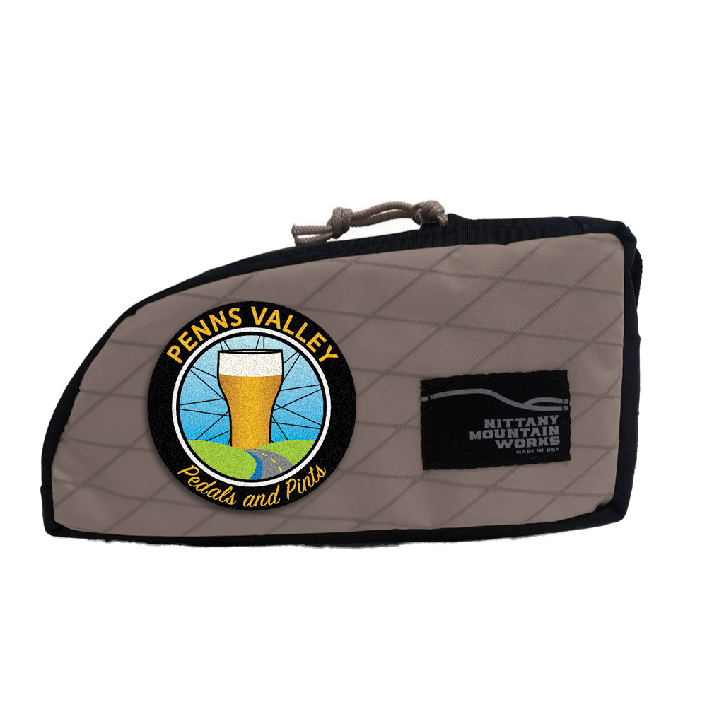 Penns Valley Pedals & Pints Stem Sack - Gray