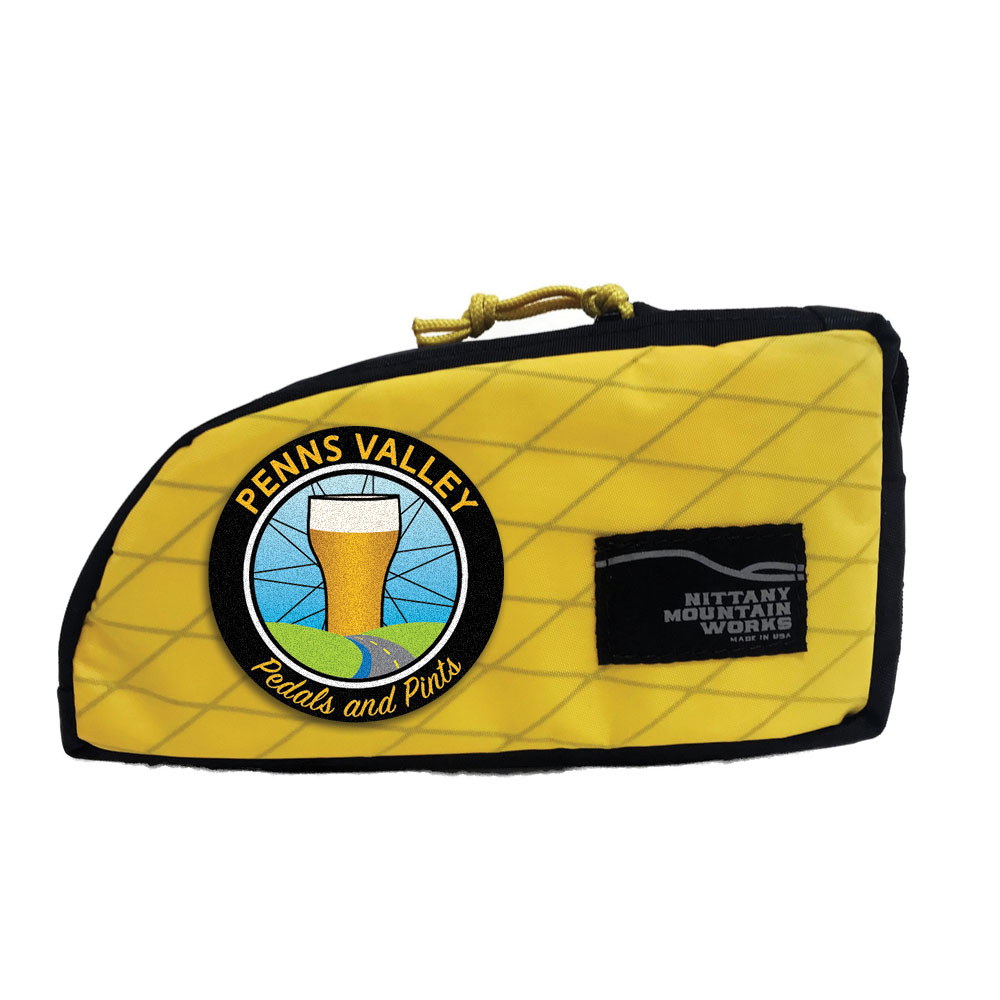 Penns Valley Pedals & Pints Stem Sack - Yellow